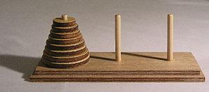 Table de las torres de Hanoi
